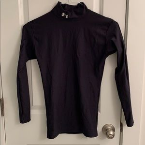 Under Armour cold gear long sleeve mock size S